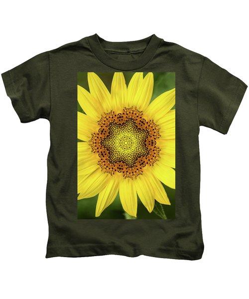 Artistic 2 Perfect Sunflower Kids T-Shirt