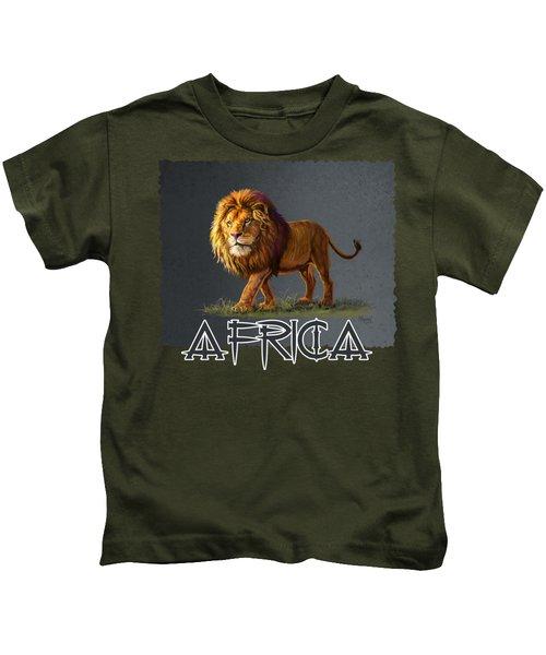Panthera Leo Kids T-Shirt