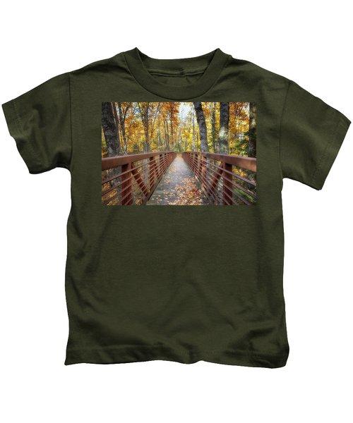 Autumn At Frog Bay  Kids T-Shirt