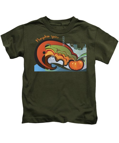 Autumn Greetings Card Kids T-Shirt