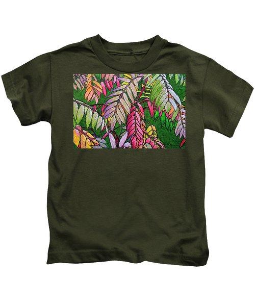 Autumn Sumac Kids T-Shirt