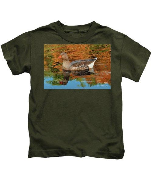 Autumn Swim Kids T-Shirt