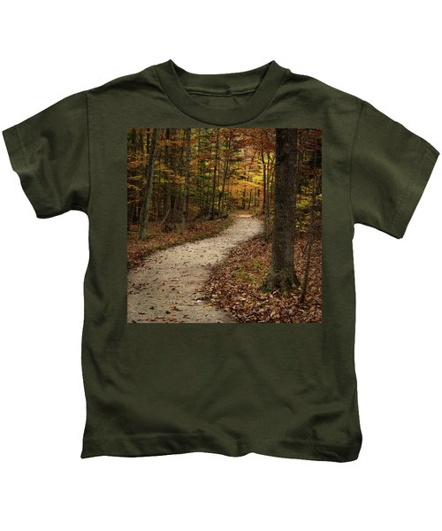 Autumn Trail Kids T-Shirt
