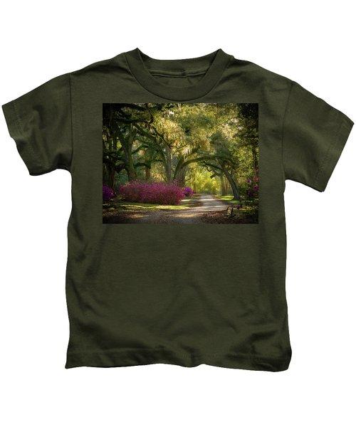 Avery Island Pathway Kids T-Shirt
