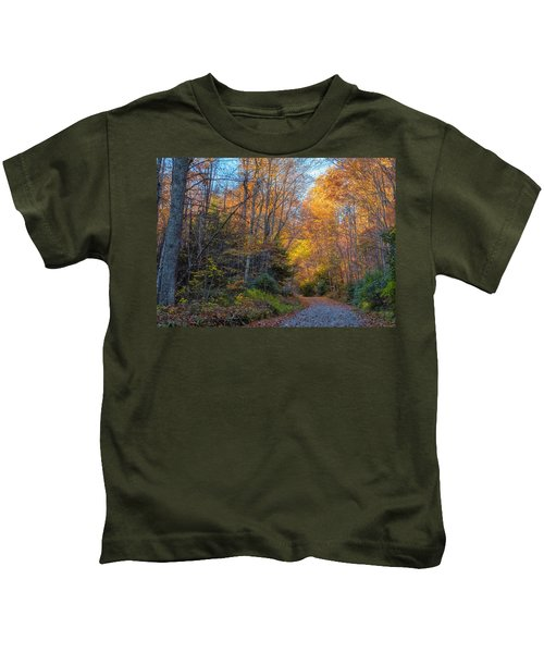 Back Road Beauty Kids T-Shirt