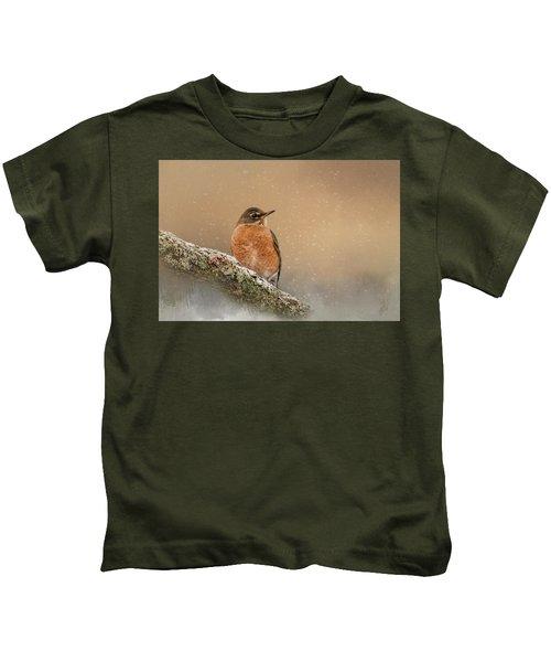 Backyard Visitor Kids T-Shirt