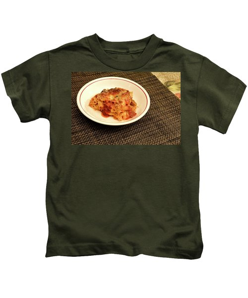 Baked Ziti Serving 1 Kids T-Shirt