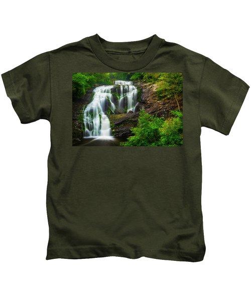 Bald River Falls Kids T-Shirt