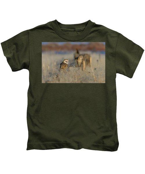 Barn Owls 9 Kids T-Shirt