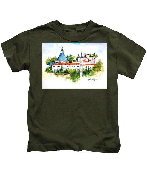 Basillica Of Annunciation Kids T-Shirt