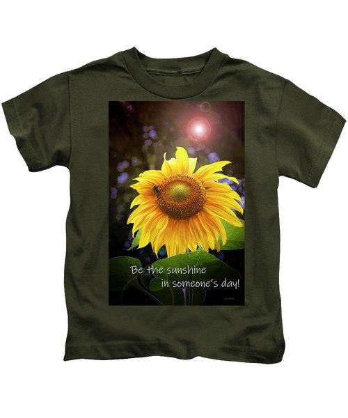 Be The Sunshine  Kids T-Shirt