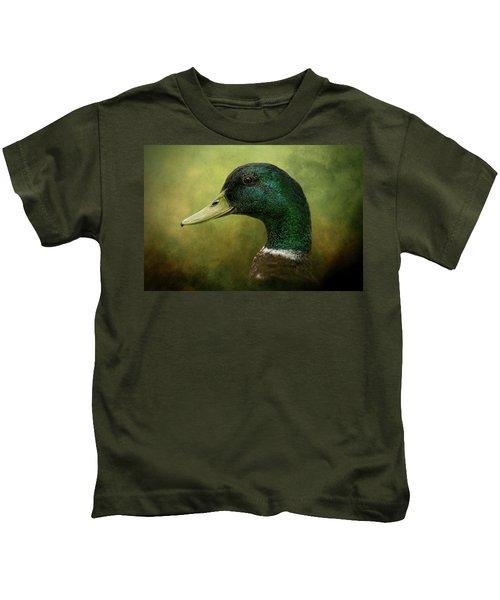 Beauty In Green Kids T-Shirt