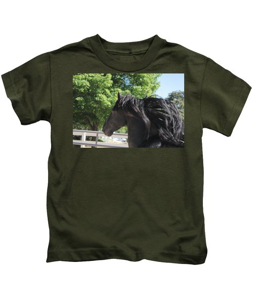 Beauty In Motion Kids T-Shirt