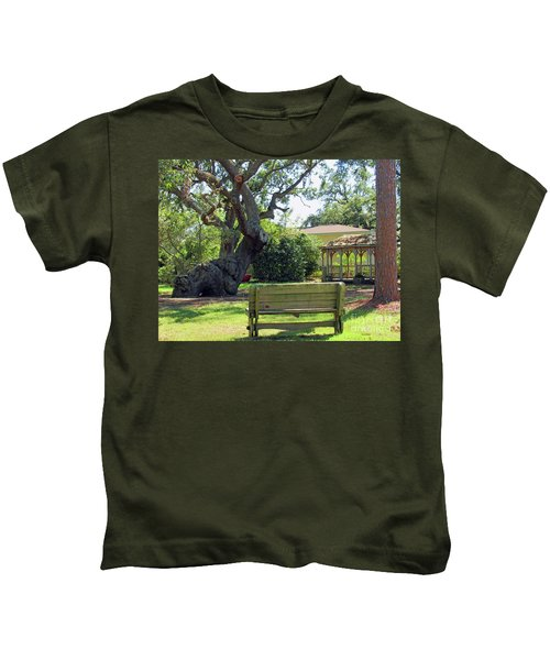 Been Here Awhile Tree In Park Kids T-Shirt