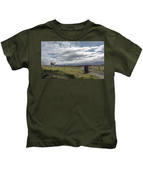 Behold A Pale  Horse Kids T-Shirt