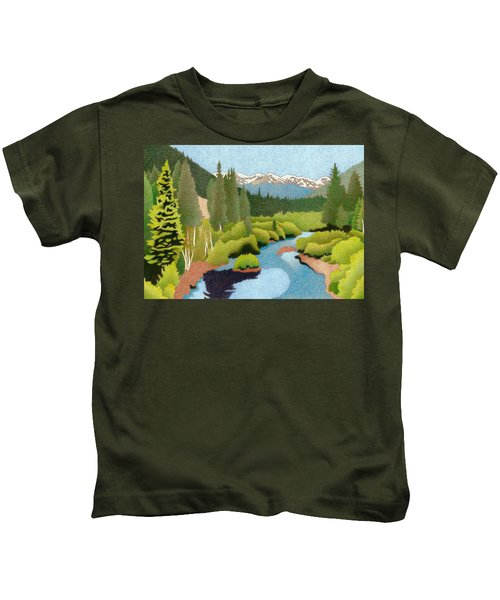 Berthoud Pass Kids T-Shirt