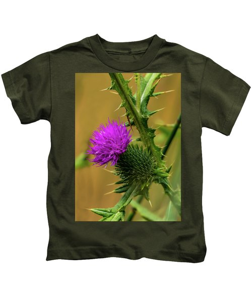 Between The Flower And The Thorn Kids T-Shirt