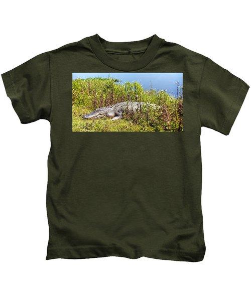 Big Old Alligator Kids T-Shirt