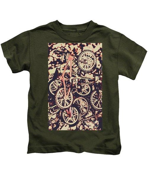 Bike Mountain Kids T-Shirt