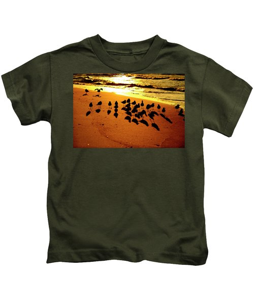 Bird Shadows Kids T-Shirt