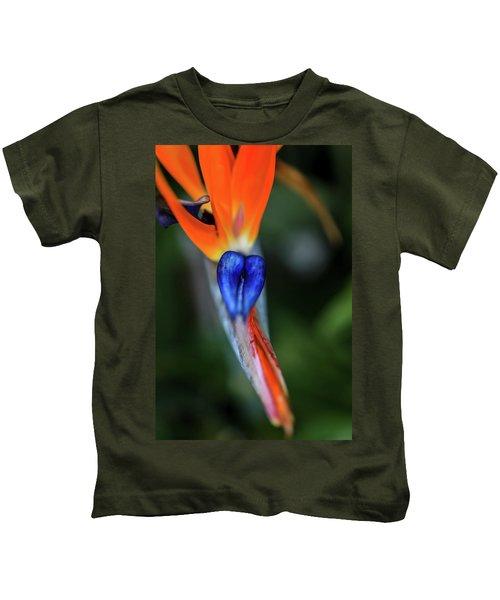 Birds Of Paradise Up Close Kids T-Shirt