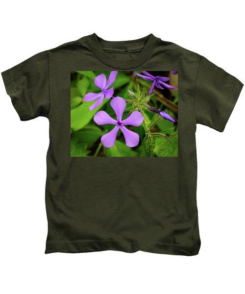 Blue Phlox Kids T-Shirt