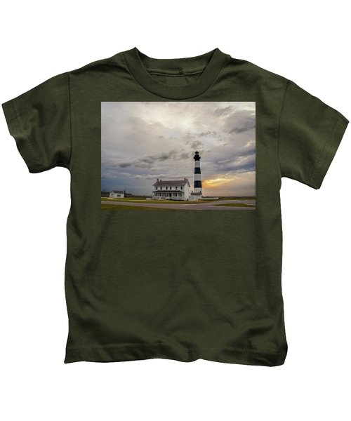 Bodie Island Lighthouse No. 2 Kids T-Shirt