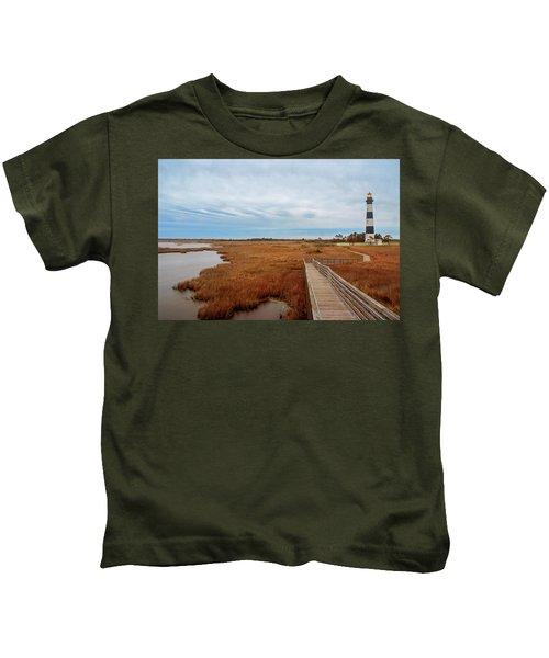 Bodie Island Lighthouse No. 3 Kids T-Shirt