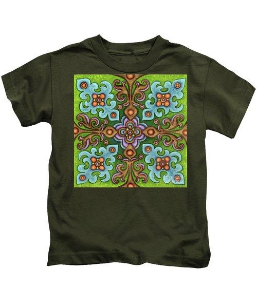 Botanical Mandala 4 Kids T-Shirt