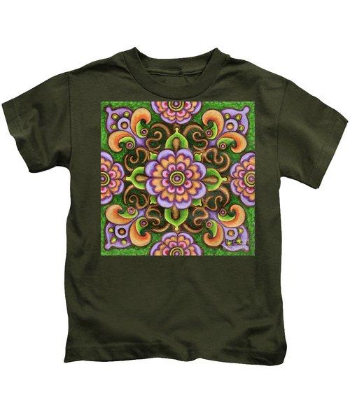 Botanical Mandala 5 Kids T-Shirt