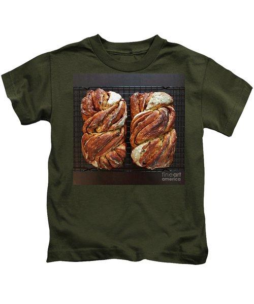 Breakfast Sourdough Swirls Kids T-Shirt