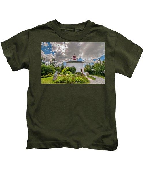 Burntcoast Head Lighthouse  Kids T-Shirt