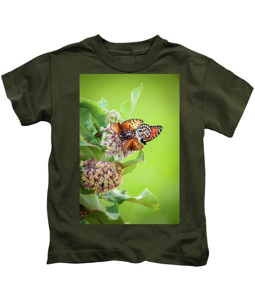 Butterfly Buffet II Kids T-Shirt