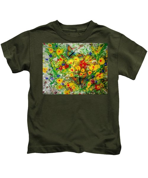 Butterfly Delight Kids T-Shirt