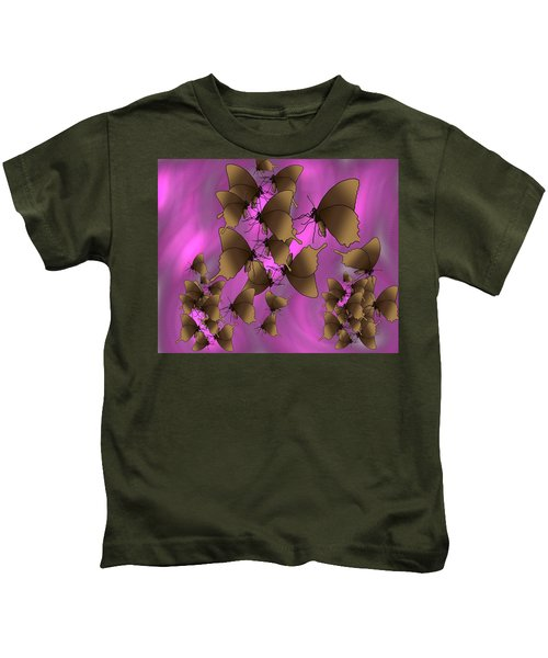 Butterfly Patterns 17 Kids T-Shirt