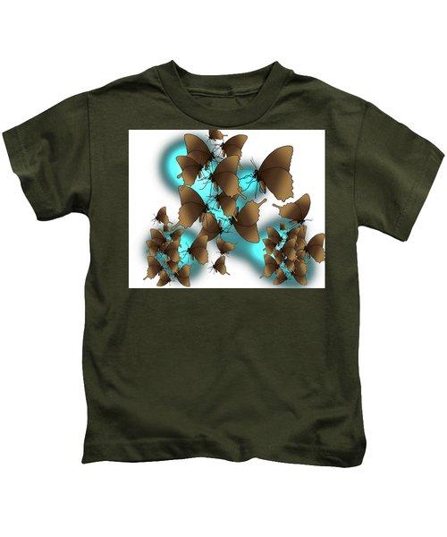 Butterfly Patterns 9 Kids T-Shirt