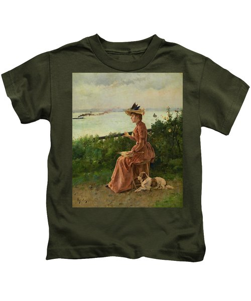 By The Sea, 1890 Kids T-Shirt