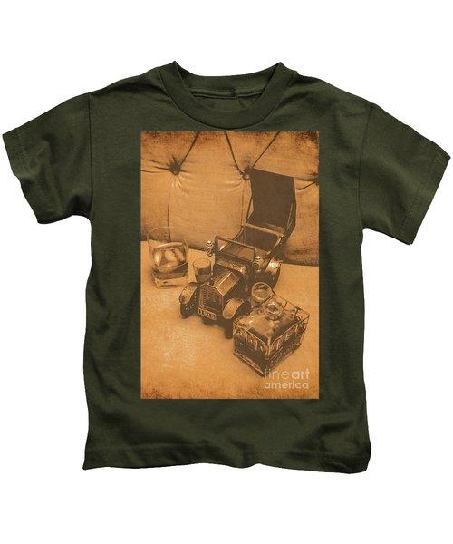 Bygone Bourbon Kids T-Shirt