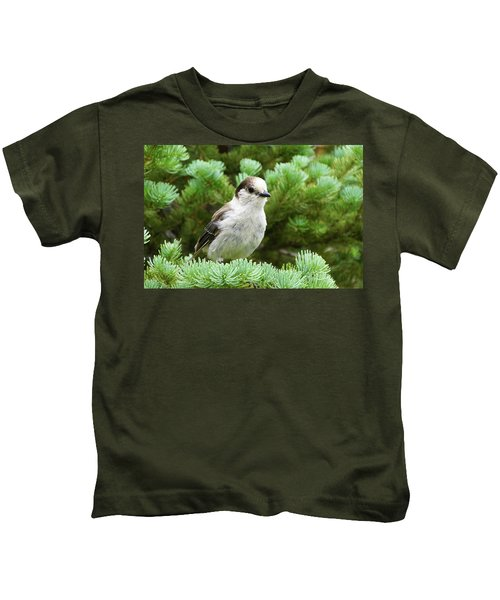 Camprobber - The Gray Jay Kids T-Shirt
