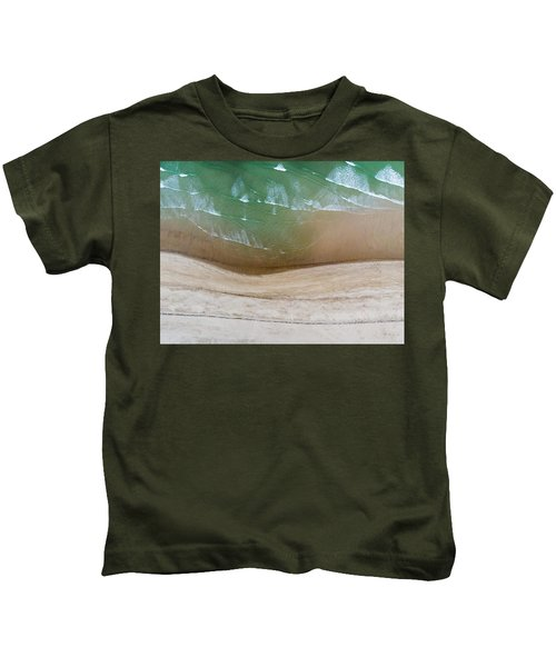 Cape Cod Beach Abstract Kids T-Shirt