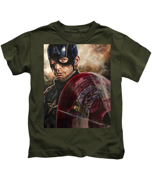 Captain America Kids T-Shirt