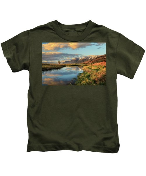 Carson Valley Sunrise Kids T-Shirt