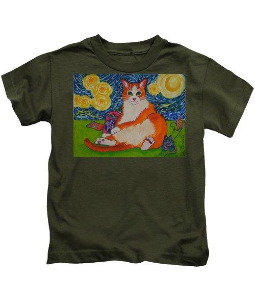 Cat Nipped  Kids T-Shirt