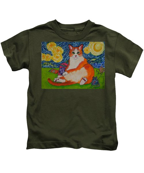 Cat Nipped  Kids T-Shirt