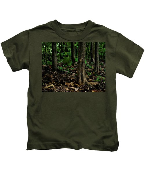 Cedar Trees Kids T-Shirt