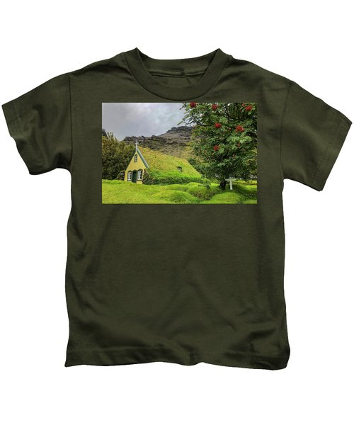 Church Of The Holy Moss Kids T-Shirt