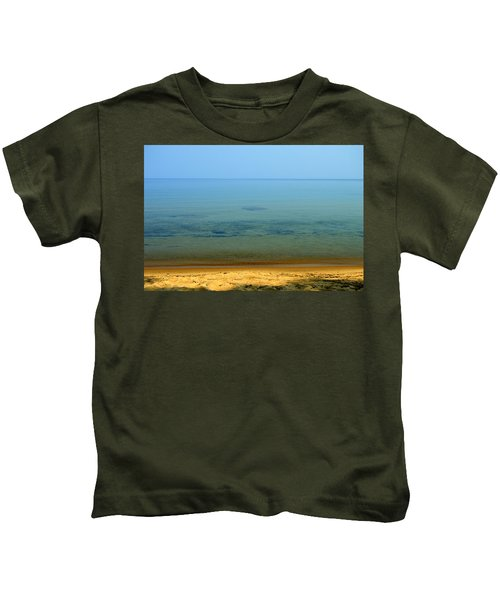 Clearness Of Lake Superior Kids T-Shirt
