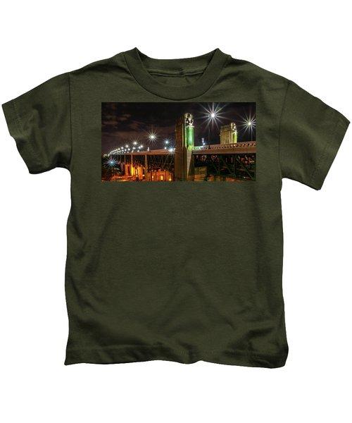 Cleveland Lights  Kids T-Shirt