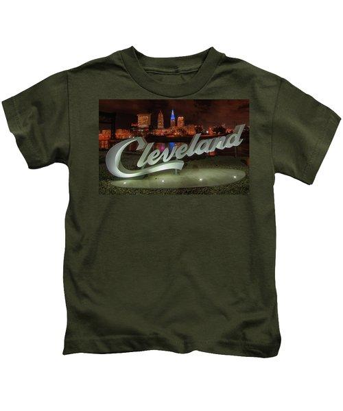 Cleveland Proud  Kids T-Shirt