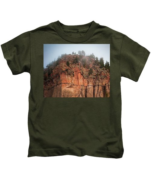 Cliff Face Hz Kids T-Shirt